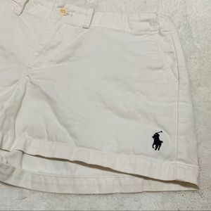 Women's Ralph Lauren Sport Shorts White Size 4
